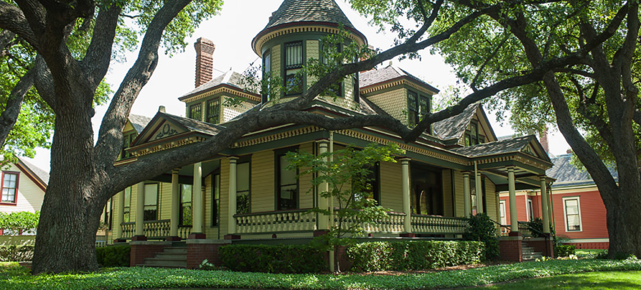 2922 Swiss Avenue, Wilson House in Dallas' Wilson Historic District after renovation and preservation in 2020